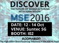 DISCOVER THE FUTURE OF MANUFACTURING WITH SODA VISION AT MSE2016!