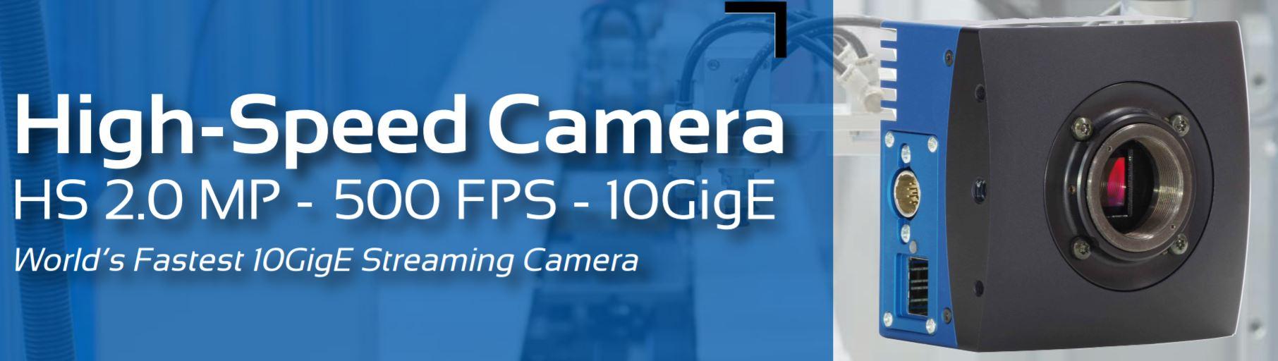 World's Fastest 10GigE Machine Vision Camera