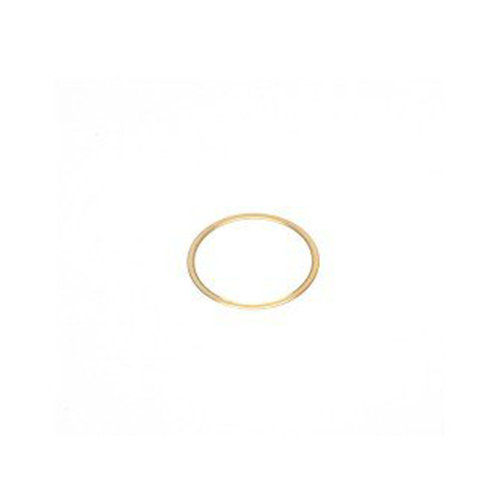 Spacer ring 0.25 mm, C-mount, brass