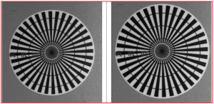 a-magnified-top-left-corner-image-of-the-test-chart-aca2500-14um-left-and-a2a2590-60umbas-right